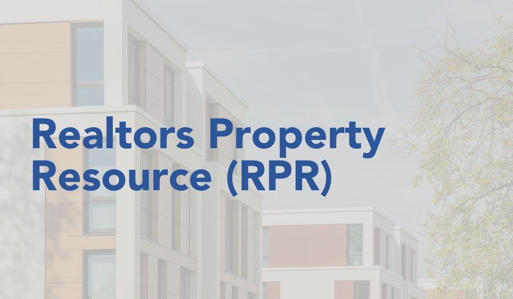 Realtors Property Resource (RPR)
