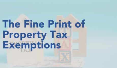 The Fine Print of Property Tax Exemptions 1 CE credit course